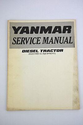 Yanmar Diesel Tractor Electrical Equipment Service Manual