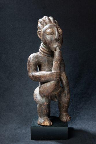 Bamun Court Figure, Western Cameroon Grasslands, Central African Tribal Art.