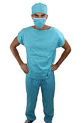 Dr. Med. Sexy Herrenkostüm Kostüm Scrub Doktor Arzt Chirurg OP-Kittel K45 - Herren Sexy Arzt Kostüm