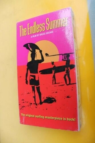 The ENDLESS SUMMER Bruce Brown 1982-1995 Surfing Rare VHS New Sealed Movie