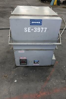 Cress C1228942 Electric Kiln Furnace 160v 1ph Max Temp 2250