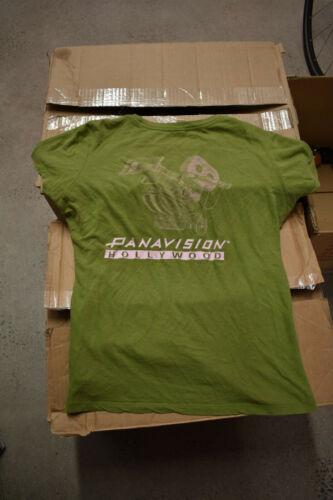 Panavision Hollywood T shirt Green Rare REAL Xtra large Women