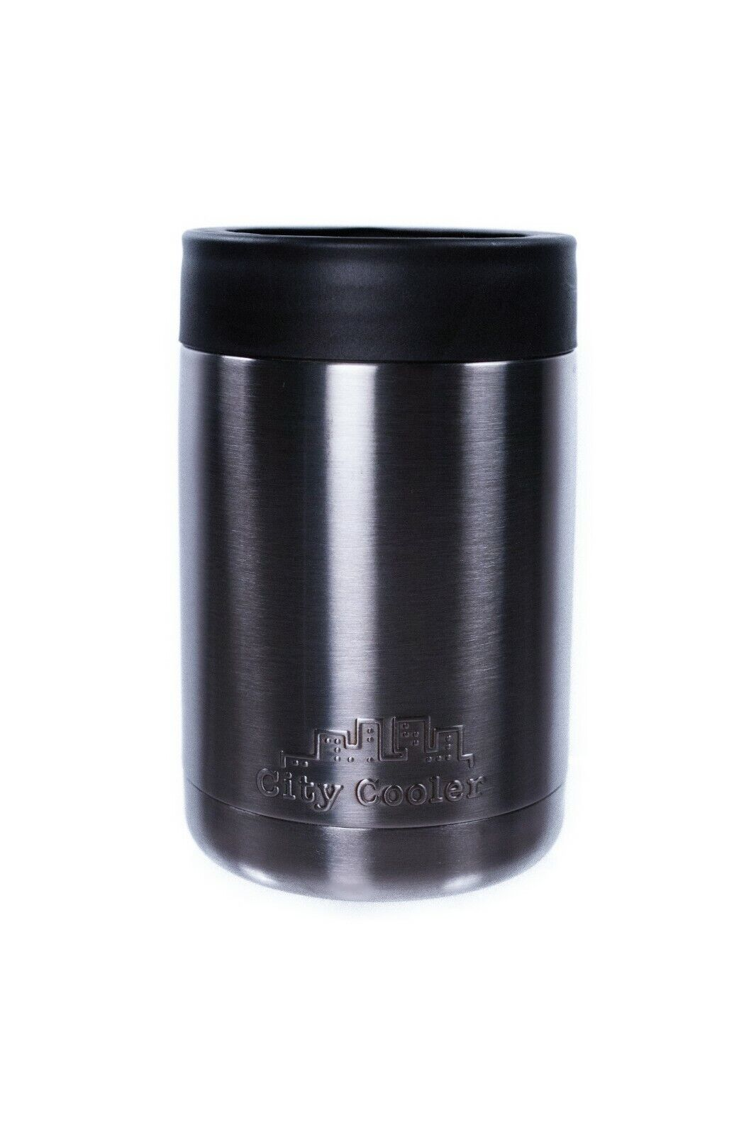 "Stainless Steel Can Cooler 12oz ""City Cooler"""