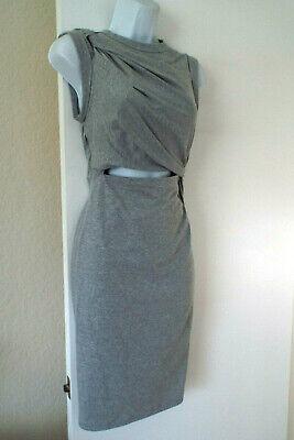 ***ALEXANDER WANG Sz XS knit casual DRESS grey!!