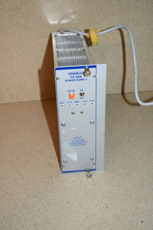 ^^ TENNELEC TC 909 POWER SUPPLY PLUG IN (TP957)