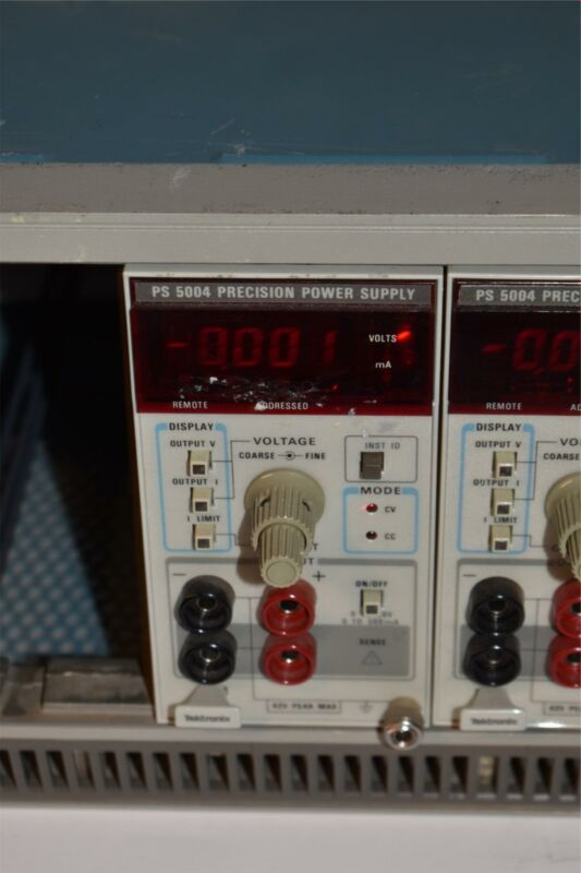 <RF>TEKTRONIX TEK PS5004 PS 5004 PRECISION POWER SUPPLY  PLUG IN (TP2078)