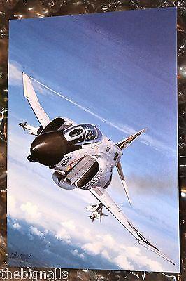 Combat Aircraft USN  F-48  Phantom II  Large Postcard
