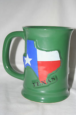 Cabelas Huge Texas Sporting Goods  Hunting Fishing Outdoor Green Mug