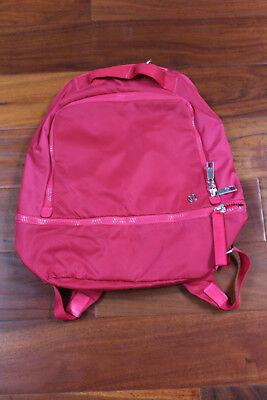 NWT Lululemon City Adventurer Backpack FHPK Fuchsia Red Pink Padded Laptop $128](Adventure Backpacks)
