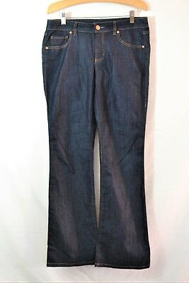 CAbi STYLE# 203R Dark Wash Boot Cut Jeans Size 6 x 31 for sale  San Jose