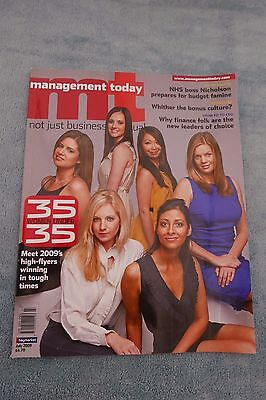 Management Today Magazine, July 2009, 35 Under 35