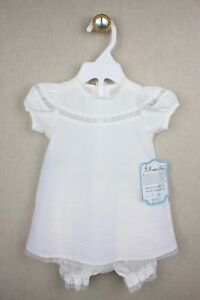 NEW Remember Nguyen Heirloom Dress Newborn NB Girls White