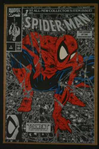 SPIDER-MAN # 1 : FINE/VERY FINE : AUGUST 1990 : MARVEL COMICS.