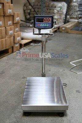 300 Lb Digital Floor 16 X 21 Bench Scale Electronic Platform Shipping 150 Kg