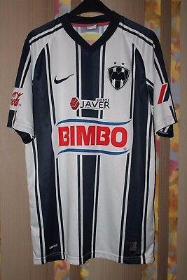 RARE MEXICO RAYADOS DE MONTERREY FOOTBALL SHIRT JERSEY CAMISETA 2008 2009 HOME image