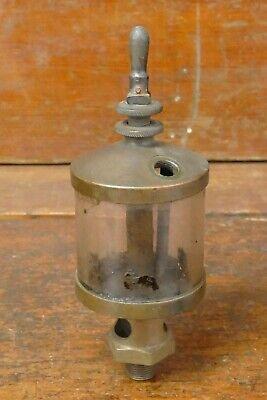 Antique American Injector 4 Brass Hit Miss Gas Engine Drip Oiler Steam Tractor