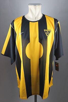 Alemannia Aachen Trikot Gr. XXL Nike RAR ohne Sponsor Jersey 2001-2002 Shirt image