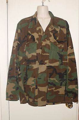 Used, WOODLAND CAMOUFLAGE COMBAT Jacket Sz M / Regular *VERY GOOD COND. for sale  Shipping to India