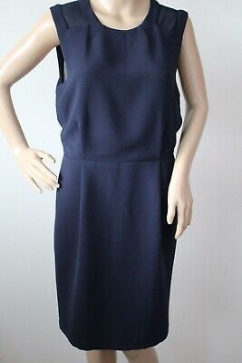 WHISTLES LADIES SIMPLY SMART NAVY SHIFT DRESS SIZE 10