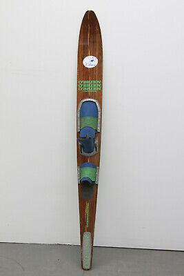 "Vintage O'Brien International Competition 66"" INLAID Teak Wood Slalom Water Ski for sale  Bridgeport"