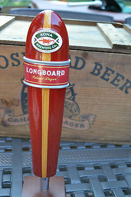 NEW Kona Brewing Co. Longboard Island Lager Draft Beer Tap Handle
