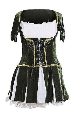 Robin Hood Fancy Dress 8 10 12 14 Ladies Fairytale Costume Elf Medieval - Robin Hood Fancy Dress Women