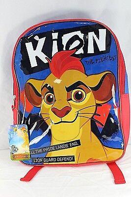 Disney Kion The Fiercest Loin Guard Blue/Red Backpack