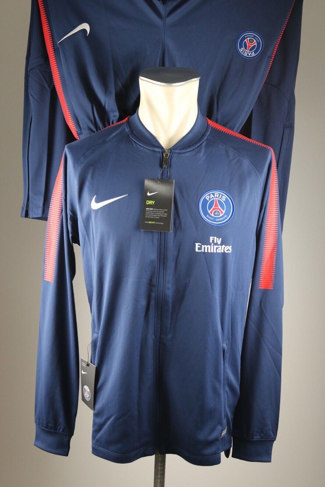 Paris Saint Germain Nike Trainingsanzug Gr. M / L / XL / XXL Neu Track Suit Neu
