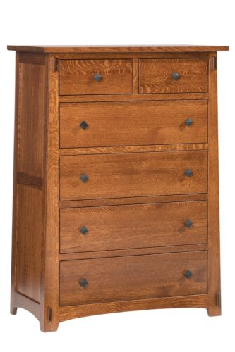Mission Arts And Crafts Stickley Style Chest Of Drawers - New - Made To Order!