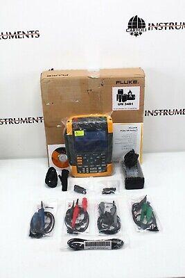 Fluke 190-504 Scopemeter Series Ii 4 Channel 500mhz Oscilloscope 190 504 204 104