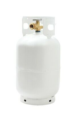 NEW 11 LB Pound Steel Propane Tank Refillable Cylinder with OPD Valve