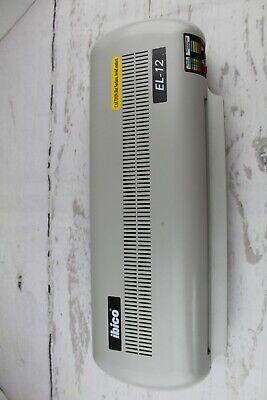 Ibico El-12 Commercial Laminating Machine Wseparate Temperature Settings Used