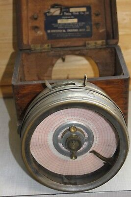 A vintage pigeon timing clock by Boddy & Ridewood Scarbrough.