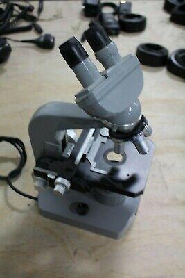 Nikon Microscope 71937 10x Binocular W 4 Objectives