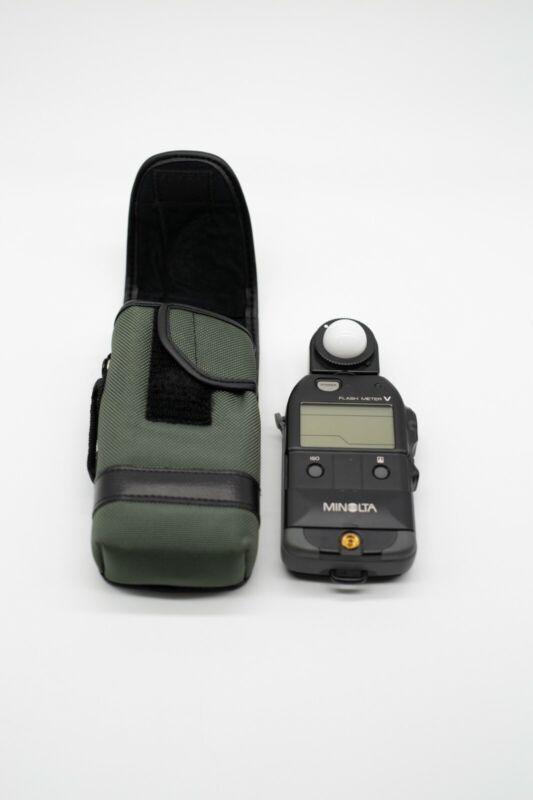 Minolta Flash Meter V - Photography Lighting Tool - Great Condition