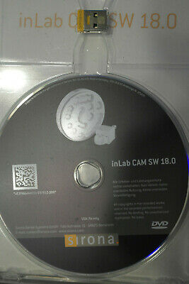 Inlab 18.0 Cam Software With Licence For Sirona  Cerec 18 In Lab