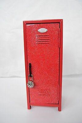 Mini Metal Glitter Locker Kids Treasure Box 10.75