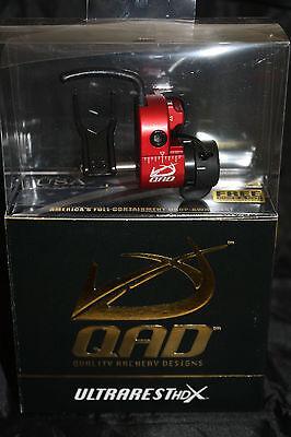 QAD Ultra Rest HDX Red Drop Away Arrow Rest Right Hand Free Knife DVD