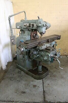 2mi Cincinnati Horizontal Mill With Toolmakers Overarm Yoder 68795