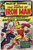 Tales of Suspense Captain America Iron Man