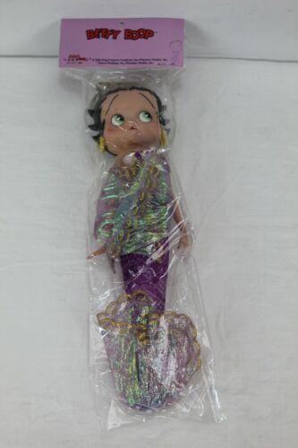 Vintage 2006 Unopened Betty Boop Mermaid Doll 10'' Tall