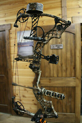 Nice Used Mathews ZXT Compound bow 28/70 COMPLETE HUNTING CAMO PACKAGE
