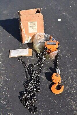 Ingersoll Rand 3 Ton Mch5-030-10-8 Manual Chain Hoist
