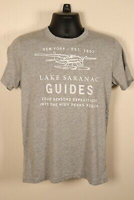 **Vintage Abercrombie & Fitch Shirt Tshirt Mens L Large A&F NWT New With Tags**
