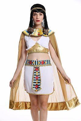 Karneval Ägypterin Kleopatra Cleopatra Pharaonin weiß M  (Cleopatra Kostüm Frauen)