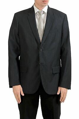 Calvin Klein Herren Wolle Gestreift Zwei Knöpfe Blazer Sport Mantel Größe 44r/ - Calvin Klein Sport Mantel