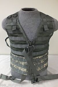 MINT-MOLLE-TACTICAL-FIGHTING-LOAD-CARRIER-VEST-FLC-ACU-Digital-ARMY-w-GRIMLOCKS