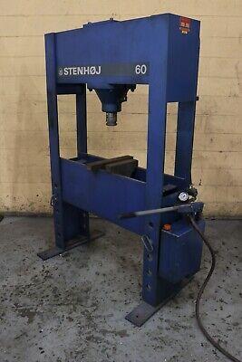 66 Ton Stenhoj Hydraulic H Frame Press Yoder 73108