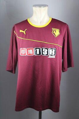 Watford Away Trikot Gr. XXL 2013-2014 The Hornets Jersey Shirt Puma image
