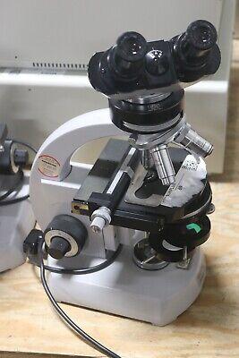 Carl Zeiss  Microscope 4989178 Nice Working
